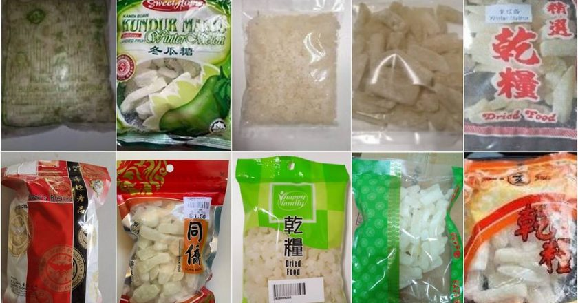SFA recalls 10 winter melon products for high levels of sulphur dioxide