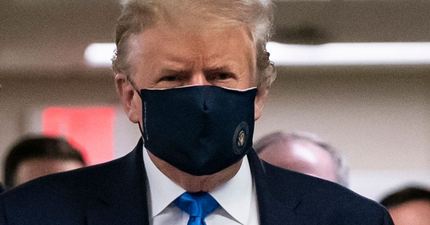 Trump's endorsement of face masks caused a rally in recovery stocks, Jim Cramer says