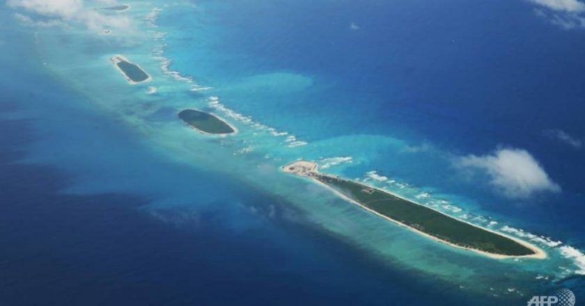China says it is not afraid of any US sanctions over South China Sea