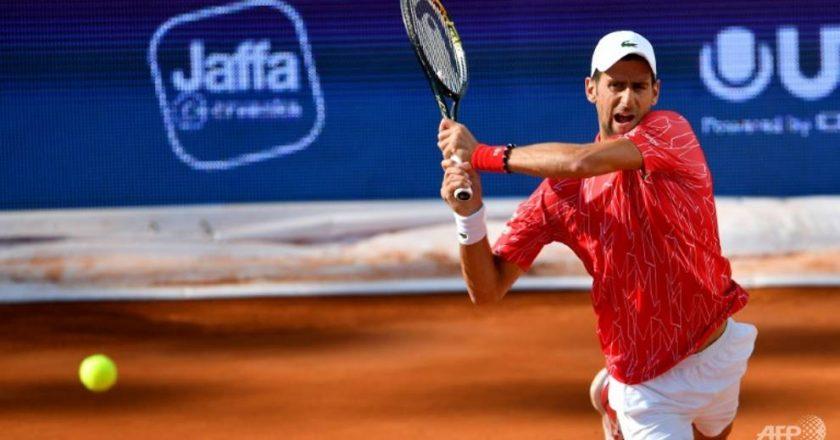 Tennis: Djokovic donates US$45,000 to Serbian town hit hard by coronavirus