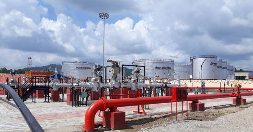 Cross-border petroleum pipeline helps Nepal save freight charges