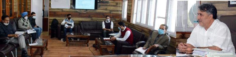 J&K: Samoon reviews action plan of Srinagar's Craft Development Institute