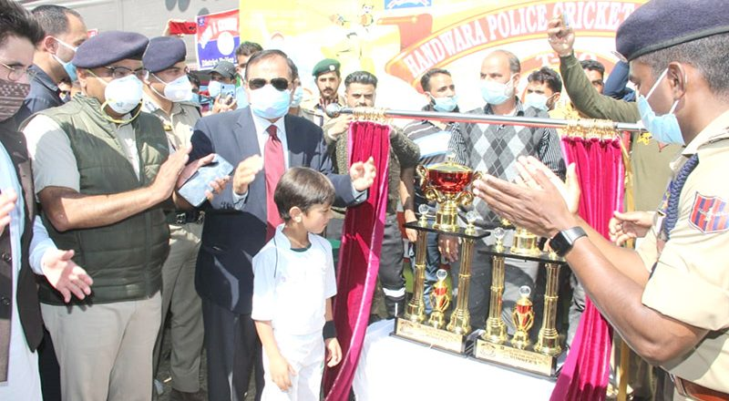 J&K: Handwara police cricket league begins