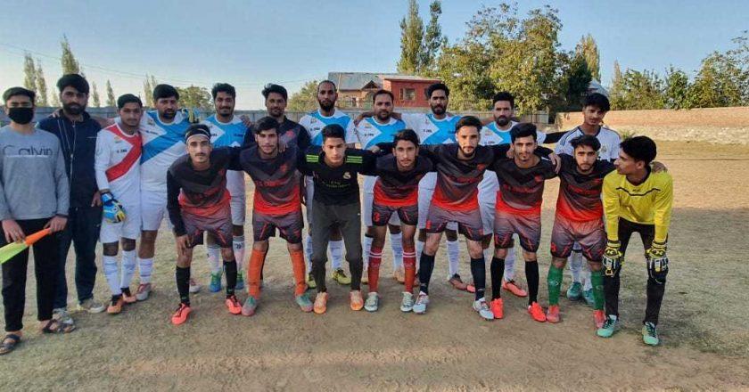 J&K: Wagoora FC qualify for final