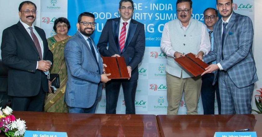 UAE-India Food Security Summit: Lulu group inks MoU with Fruit Master Agro Fresh J&K