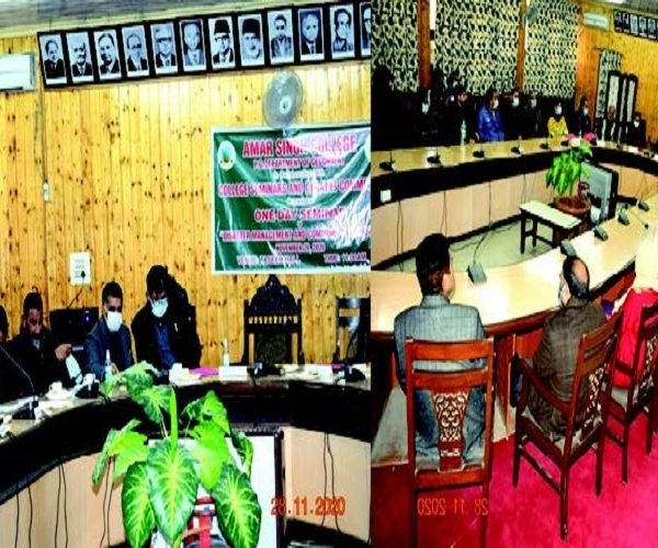 J&K: Seminar on Disaster Management and Community Resilience held at Srinagar's Amar Singh College