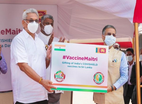 India sends 6 lakh doses of COVID-19 vaccines to Sri Lanka, Bahrain