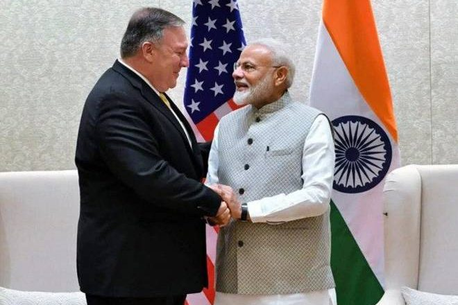 US values India as multilateral partner: Pompeo