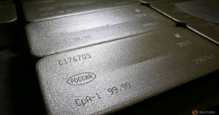 Shares rally, retail surge drives silver to 8-year high