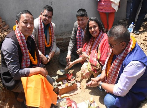 Reconstruction of 2 schools in Nepal begins with Indian aid