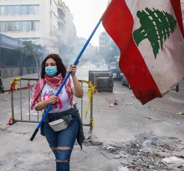 Lebanon's protesters back on streets as currency hits new low