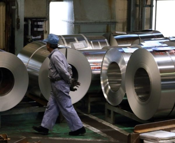 Japan's factory output rose in April on overseas demand for capital goods