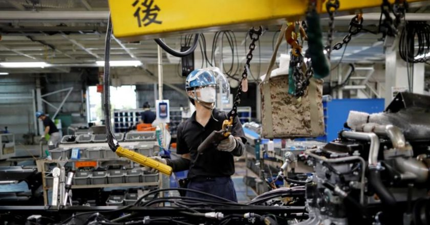 BOJ tankan to show manufacturers' Q3 mood down slightly from Q2