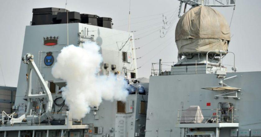 UK warship makes rare transit through Taiwan Strait